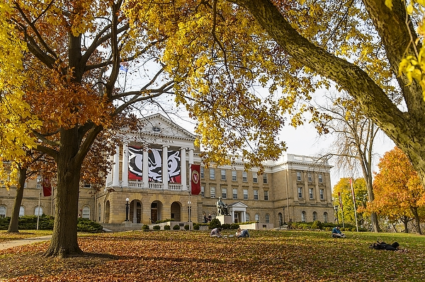 Bascom Hall in autumn