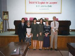 English for Lawyers, Bangkok, Thailand